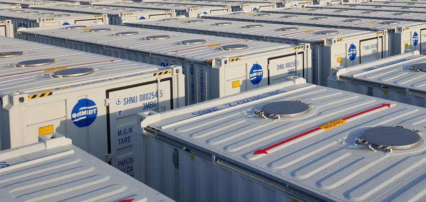 New 30′ containers – Traffic to ES & POR